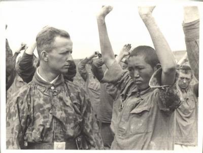 У военнослужащих вермахта в большом