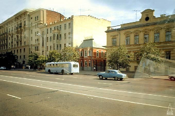 Советская москва конец 1960 86 ретро