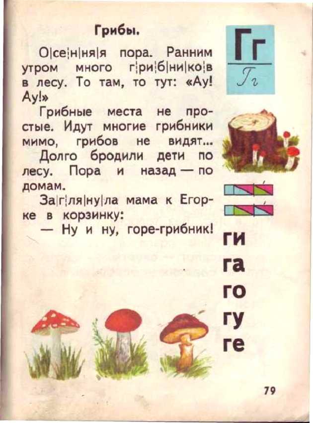 Букварь 1987 Года