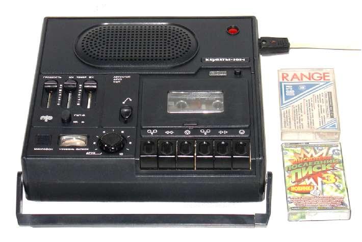"""Кассетный магнитофон  """"Парус-201-стерео """".  Прикарпатский радиозавод.  Производство с 1987 года."""