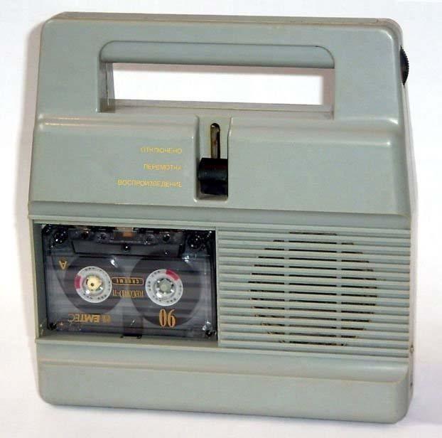 Советские магнитофоны и аудио-плееры.  Все фотографии альбома.
