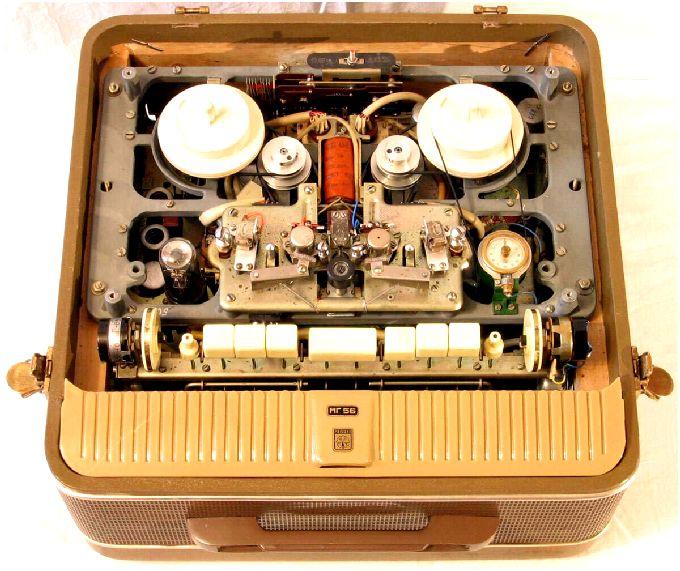 Катушечные магнитофоноы СССР