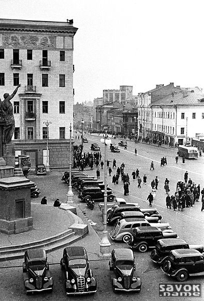 Старая Москва - чёрно белые фото » СССР ...: savok.name/94-chb.html
