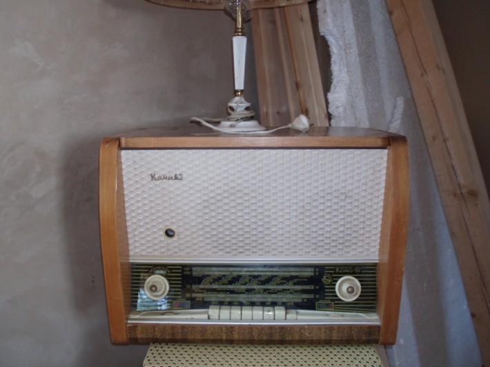 Ламповая радиолла Кама-62
