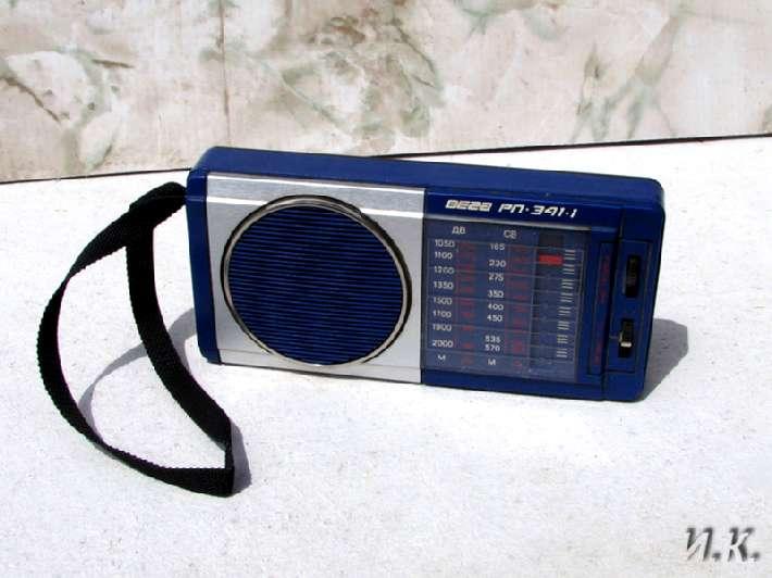 радиоприёмник вега рп-341-1