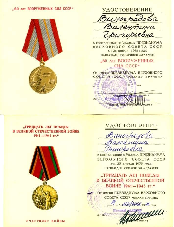 Удостоверение Ветерана Войны