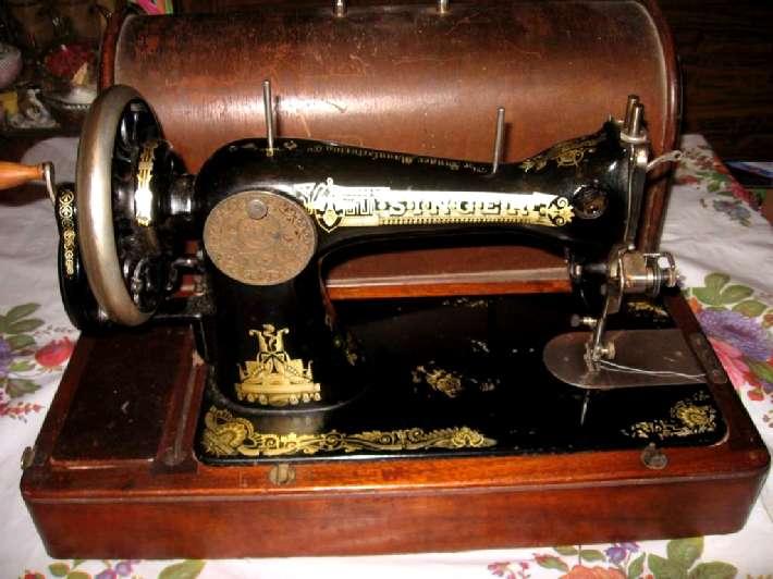 """швейная машинка """"Зингер"""","""
