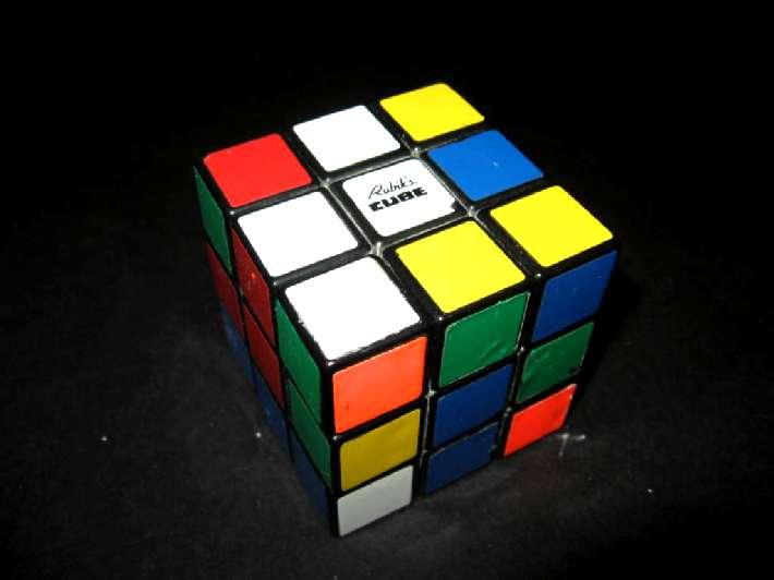 Кубик Рубика, очень популярная