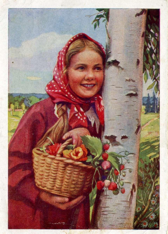 Фото 1960 деревенская девчушка 13 фотография