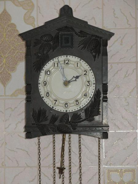 Часы с кукушкой Маяк ретро