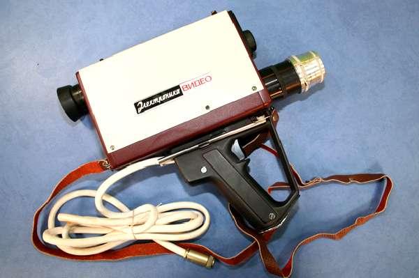 Электроника-404, Электроника-404Д.  Принципиальная схема видеокамеры Электроника-видео.