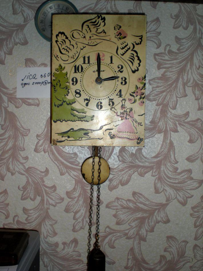 Настенные часы-ходики марки