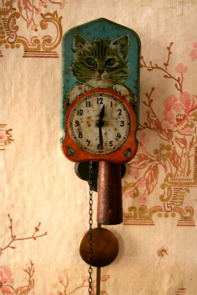 Механические часы ходики