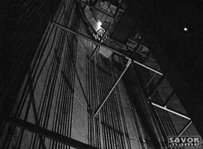 Фото строительства Останкинской телебашни