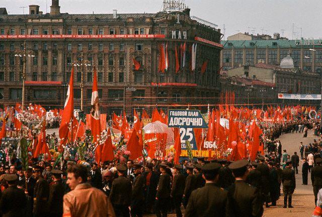 СССР через объектив фотоаппарата